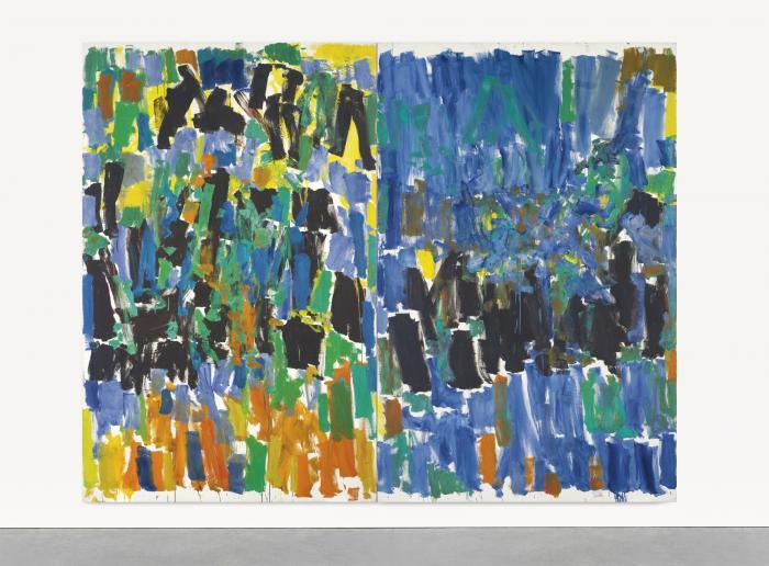 Joan Mitchell-No Room at the End-1977