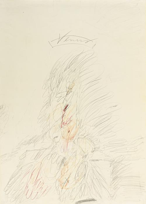 Cy Twombly-Venus-1962