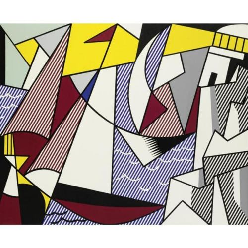 Roy Lichtenstein-Sailboats-1973