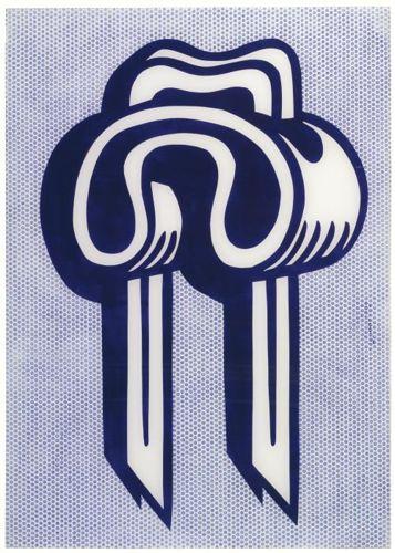 Roy Lichtenstein-Insulated Staple-1964