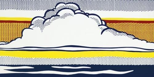Roy Lichtenstein-Cloud and Sea-1964
