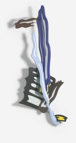 Roy Lichtenstein-Brushstroke III-1986