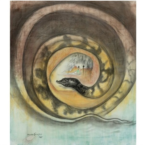 Leonora Carrington-Snake-1969
