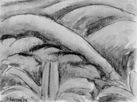 Diego Rivera-Paisaje-1928