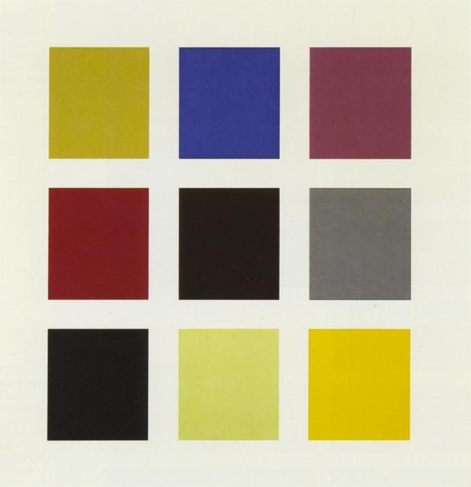 Gerhard Richter-Farbtafel 139-3 (Colour Chart 139-3)-1966