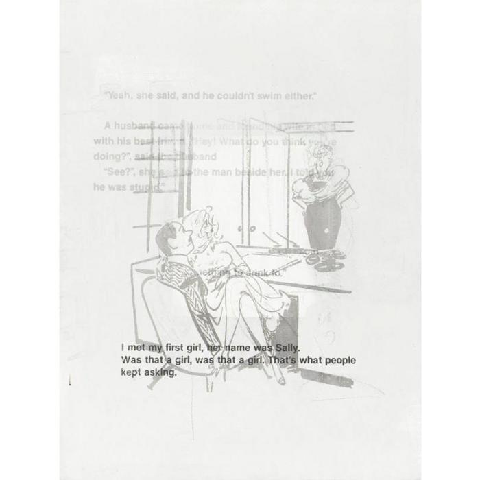 Richard Prince-Was That A Girl-1989