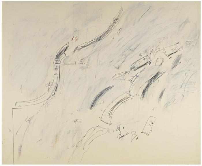 Cy Twombly-Untitled (Bolsena)-1969