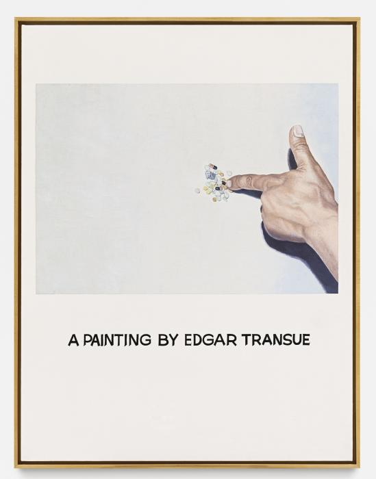 John Baldessari-Commissioned Painting: a Painting By Edgar Transue-1969