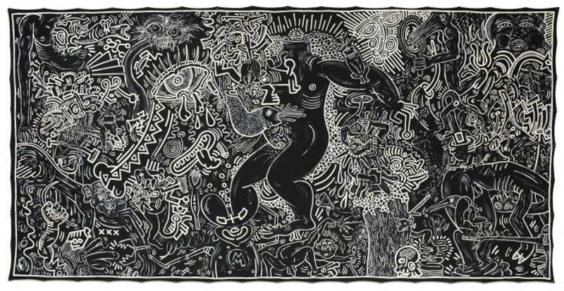 Keith Haring-Keith Haring - Untitled (September 14, 1986)-1986