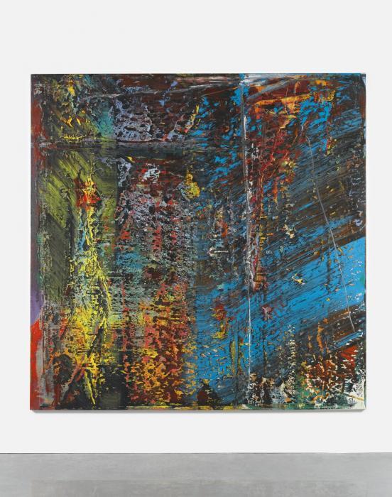 Gerhard Richter-Blau (Blue)-1988