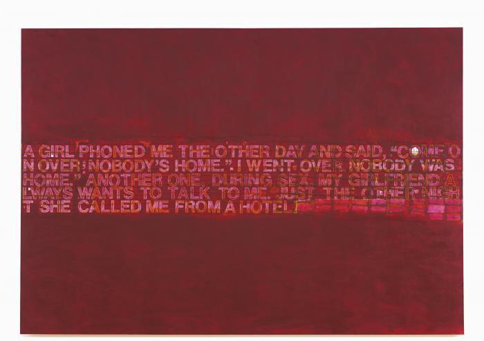 Richard Prince-Check Painting # 13-2004