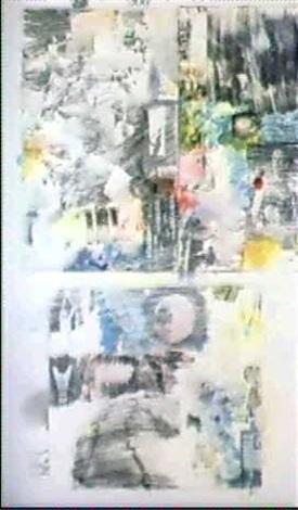 Robert Rauschenberg-Robert Rauschenberg - Allegory, lesson I-1969