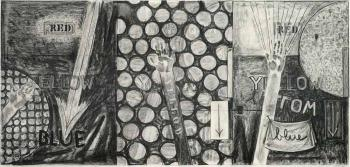 Jasper Johns-Untitled-1986