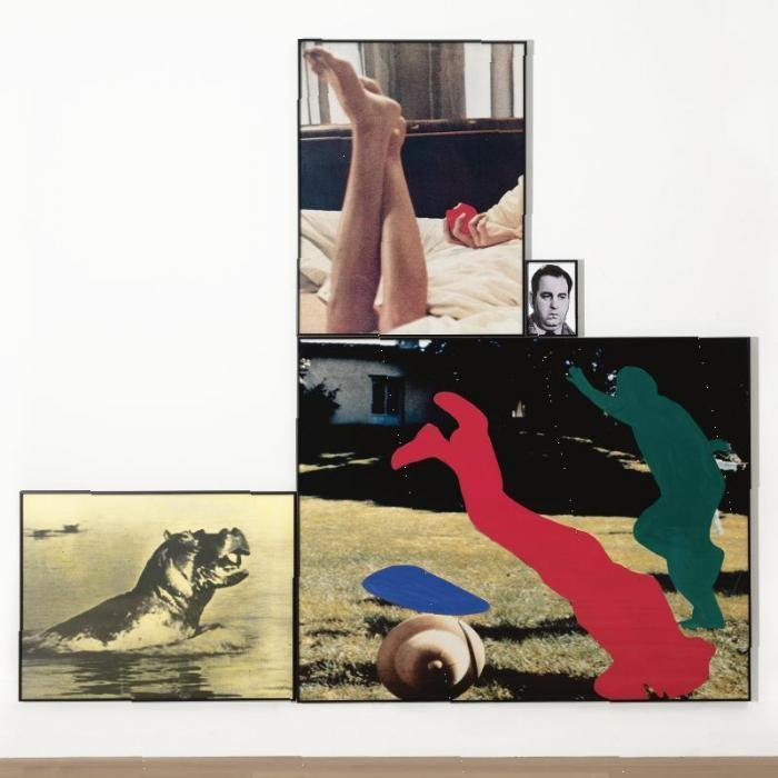 John Baldessari-Eden: With Ascending and Descending Figures, Onlookers and Hope (Small)-1991