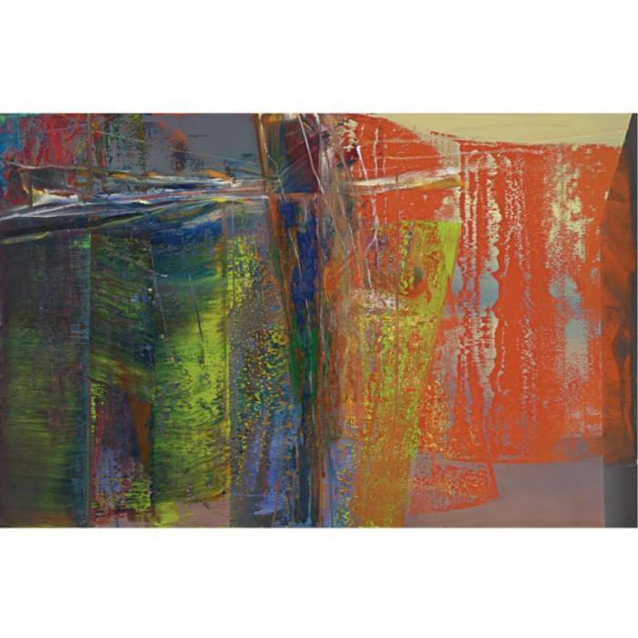 Gerhard Richter-Abstraktes Bild 596 (Abstract Painting 596)-1986