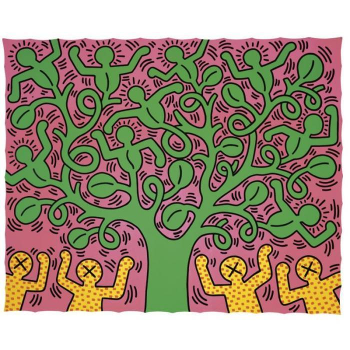 Keith Haring-Keith Haring - Tree of Life-1985
