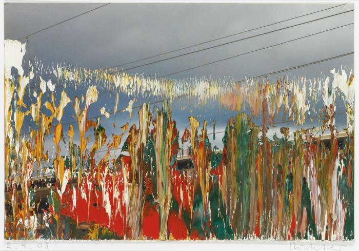 Gerhard Richter-Ohne Titel (2.4.08) / Untitled (2.4.08)-2008
