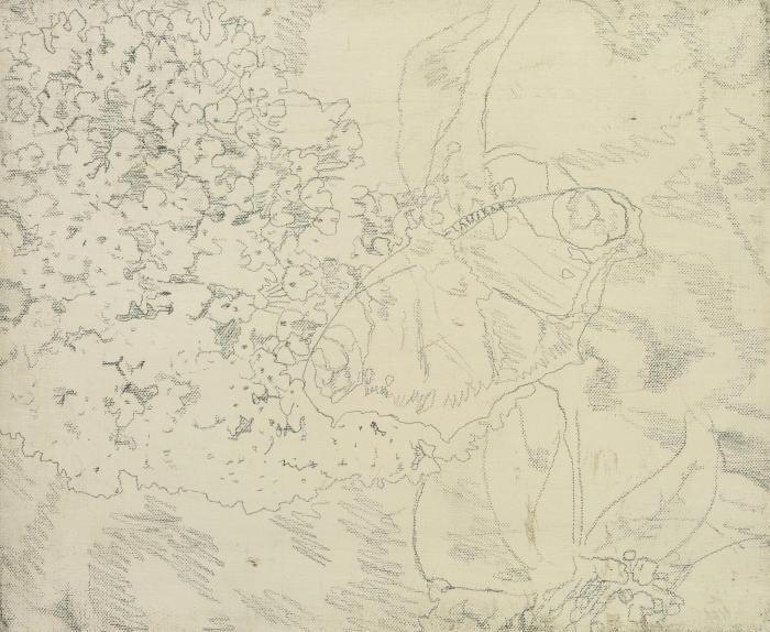 Gerhard Richter-Vorzeichnung (Preliminary drawing)-1969