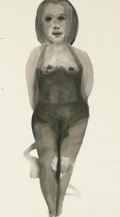 Marlene Dumas-Michelle (The Girl Who Sells Champagne)-1998