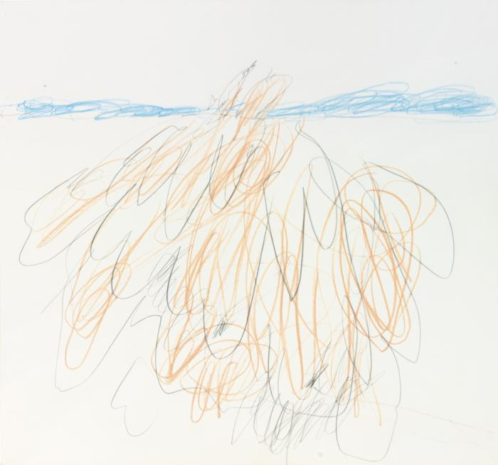 Cy Twombly-Study for the Birth of Venus-1963