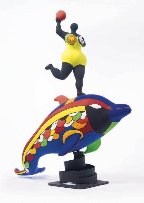 Niki de Saint Phalle-Nana on a Dolphin-1994