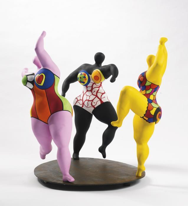 Niki de Saint Phalle-Les Trois Graces-1994