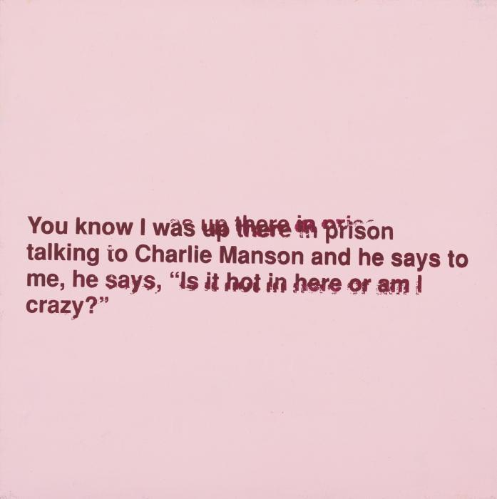 Richard Prince-Charles Manson-1992