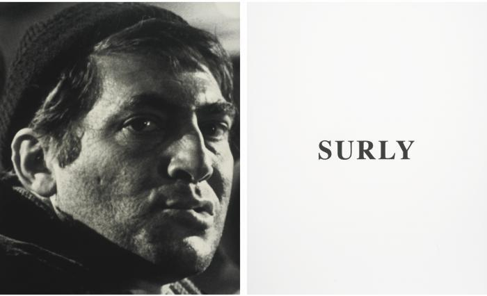 John Baldessari-Prima Facie: Surly-2005