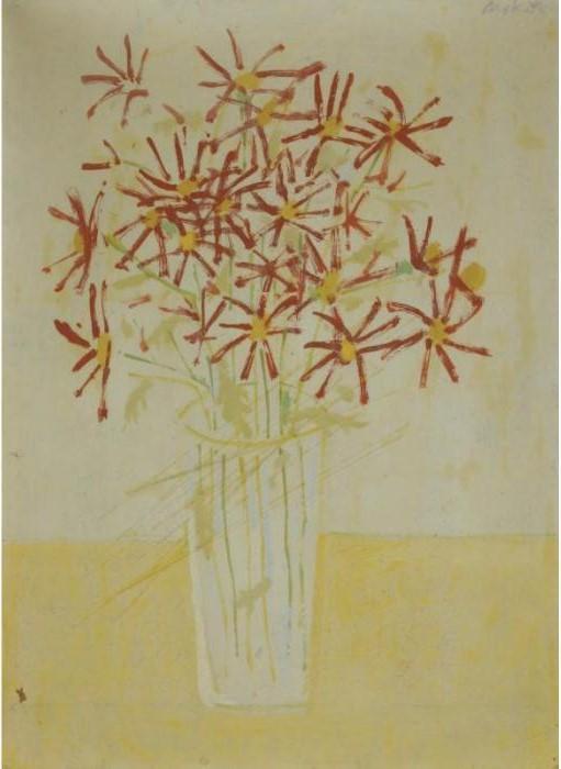 Alex Katz-Vase of Flowers-2006