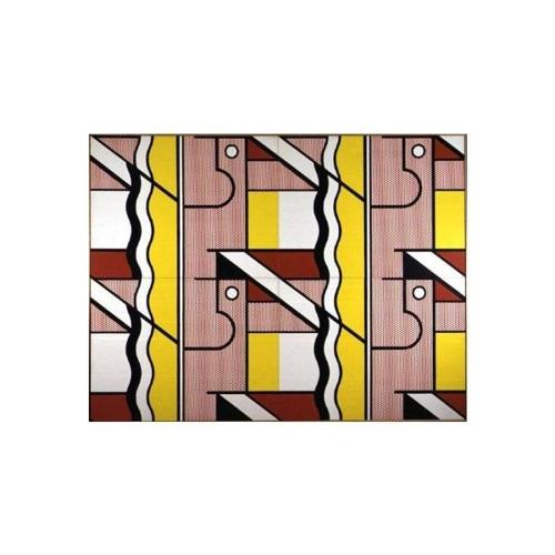 Roy Lichtenstein-Modular Painting with four panels, No.9-1970
