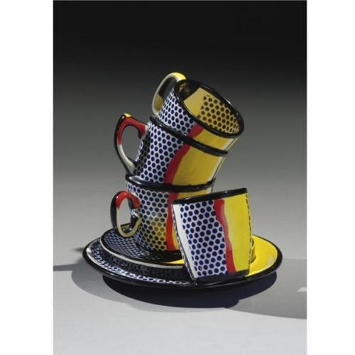 Roy Lichtenstein-Ceramic Sculpture #10-1965