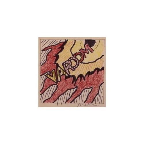 Roy Lichtenstein-Study for Varoom-1965