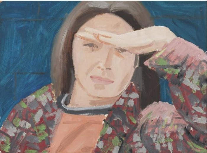 Alex Katz-Ada with Hand-1972