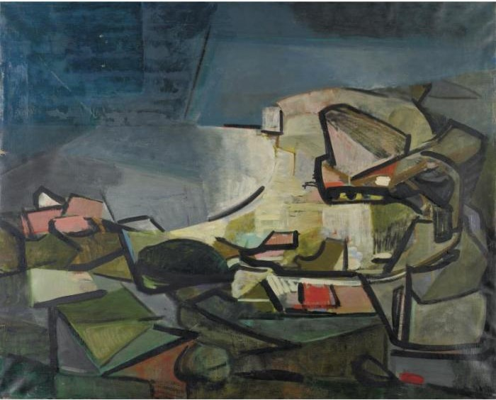 Joan Mitchell-Landscape #150-