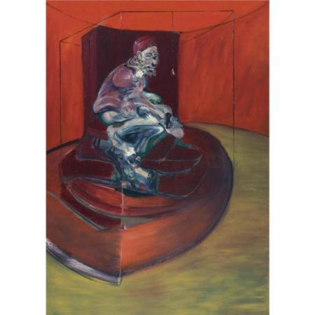 Francis Bacon-Study from Innocent X-1962