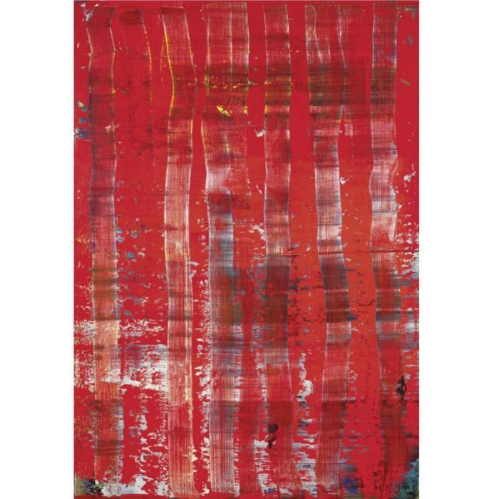 Gerhard Richter-Abstraktes Bild 743-2 (Abstract Painting 743-2)-1991