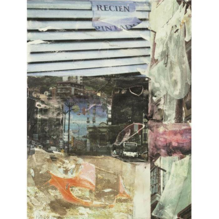 Robert Rauschenberg-Robert Rauschenberg - Easel (Anagrams A Pun)-1997