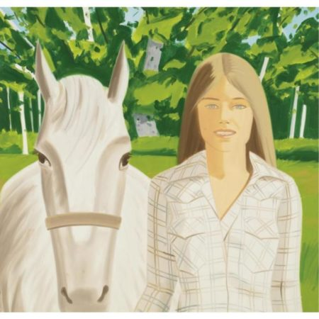 Alex Katz-Jean Standing-1976