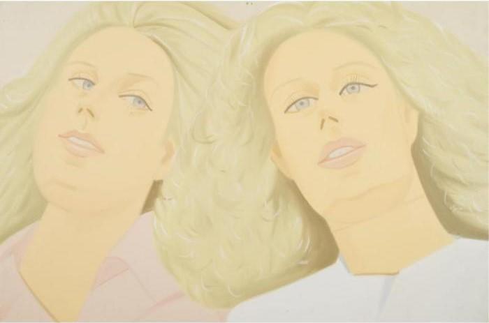 Alex Katz-Two Sisters-1981