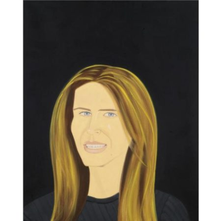 Alex Katz-Yvonne smiling-1994