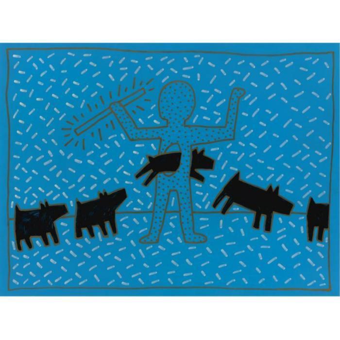 Keith Haring-Keith Haring - Blue-1981