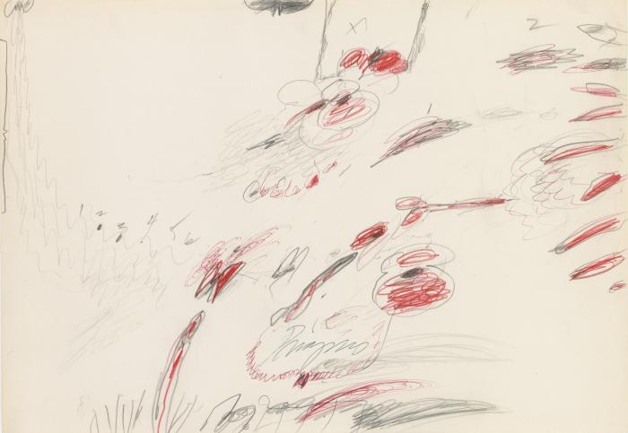 Cy Twombly-Priapus-1960