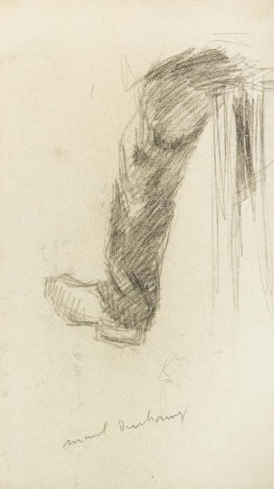 Marcel Duchamp-La Jambe Du Paysan-1905
