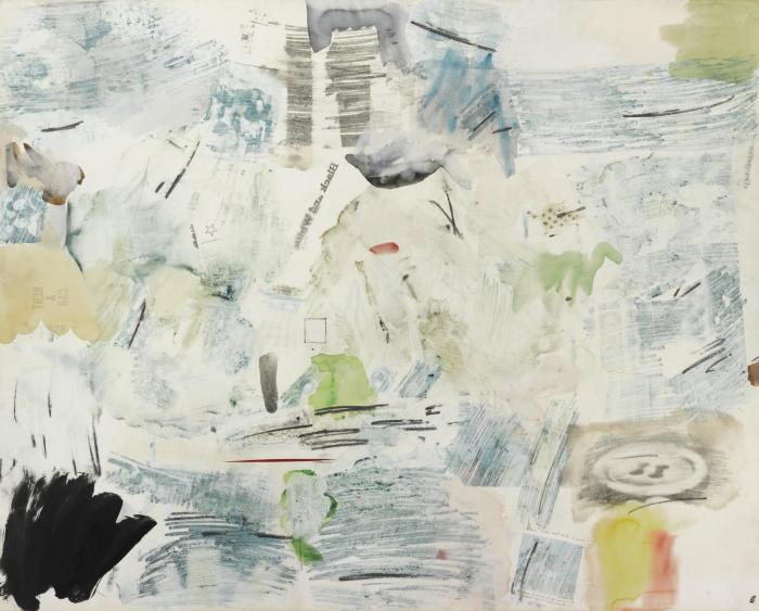 Robert Rauschenberg-Robert Rauschenberg - Spring Clearance-1961