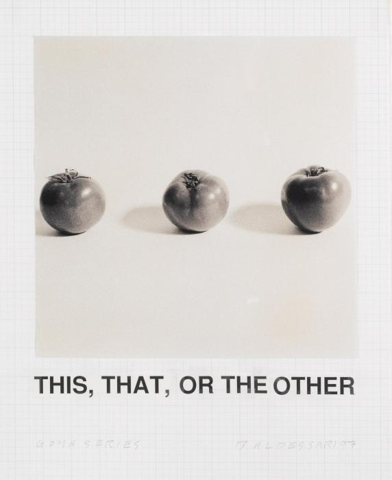 John Baldessari-Study for Goya Series: This, That, Or the Other-1997
