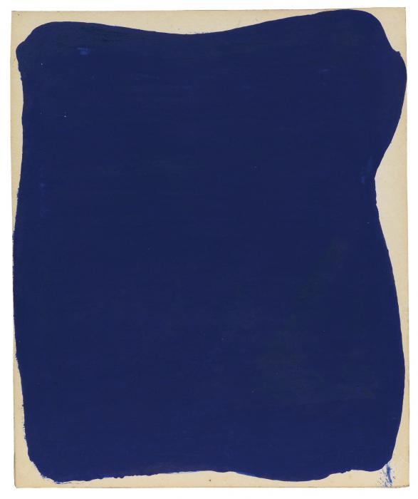 Yves Klein-Untitled Blue Monochrome (Ikb 9)-1958