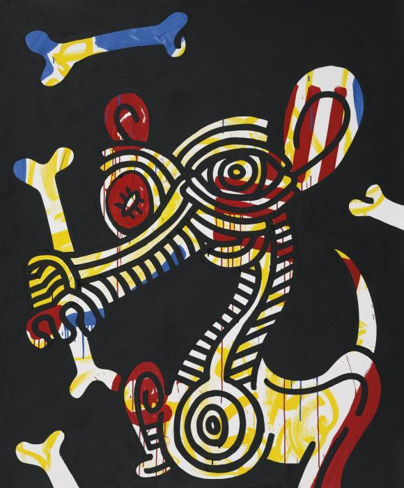 Keith Haring-Keith Haring - Red-Yellow-Blue #11-