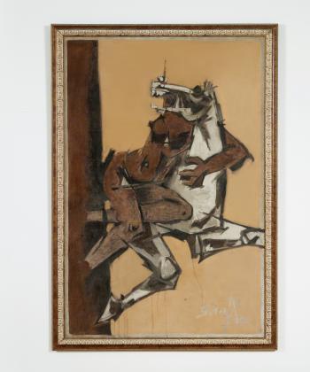 Maqbool Fida Husain-Rape-1970