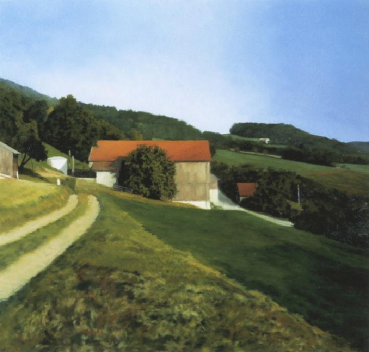 Gerhard Richter-Scheune (Barn)-1984