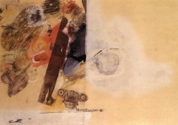 Robert Rauschenberg-Robert Rauschenberg - Untitled-1966